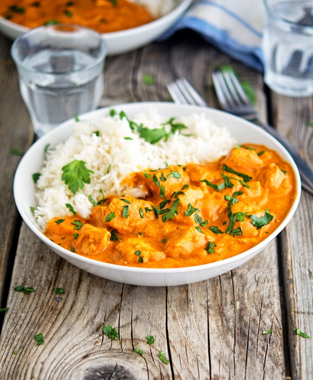 The Iron You: Easy Creamy Crock-Pot Chicken Tikka Masala