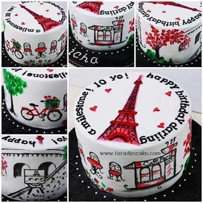 Paris Cake Decorating Class