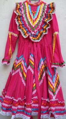 Mexican Folk Dance Dress