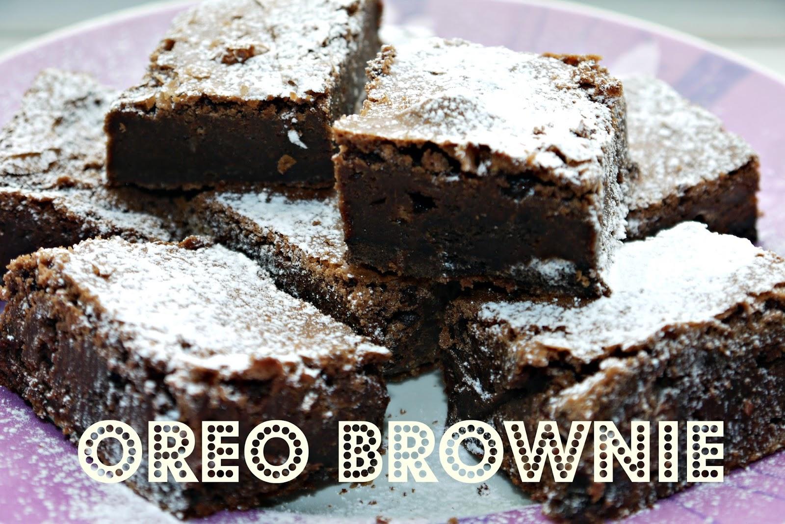 Inside the Wendy House: Oreo Brownie Traybake Recipe