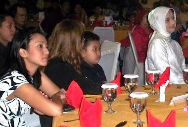 Isabella Fawzi Ditemani Tanten Vonny Edi & Ibu Marissa Haque