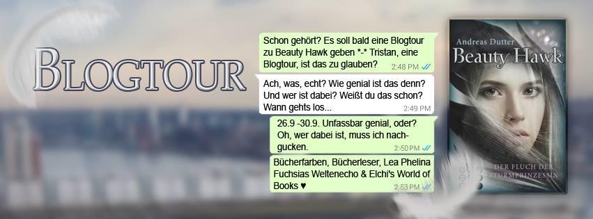 """Blogtour """"Beauty Hawk - Der Fluch der Sturmprinzessin"""" - 26.09. - 30.09.2016"""