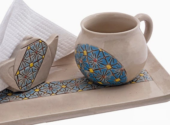 Ragam Hias Batik pada Keramik - Seni Budaya Indonesia