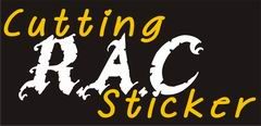 R.A.C. Cutting Sticker