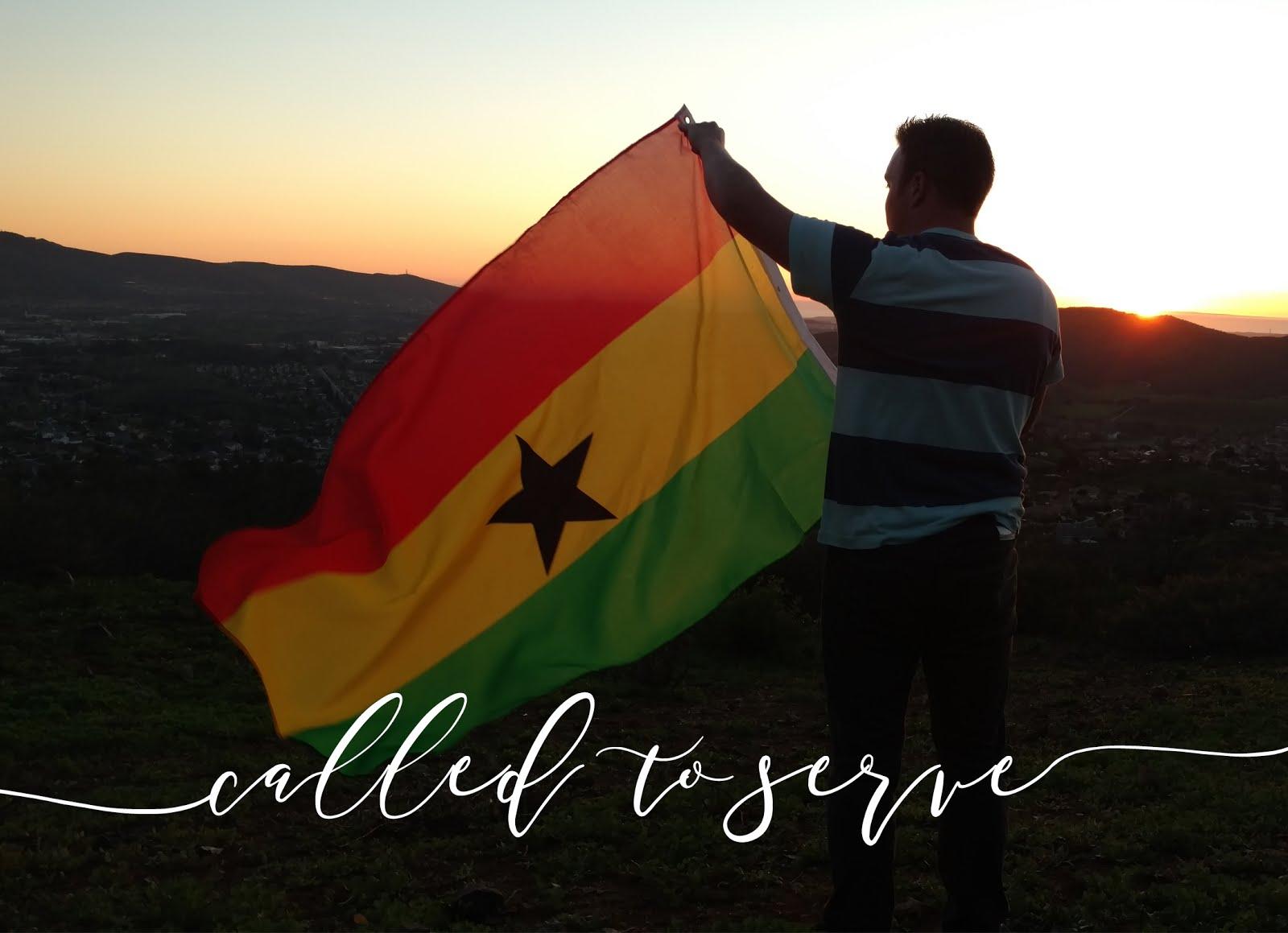 Elder Austin Barnum in Ghana