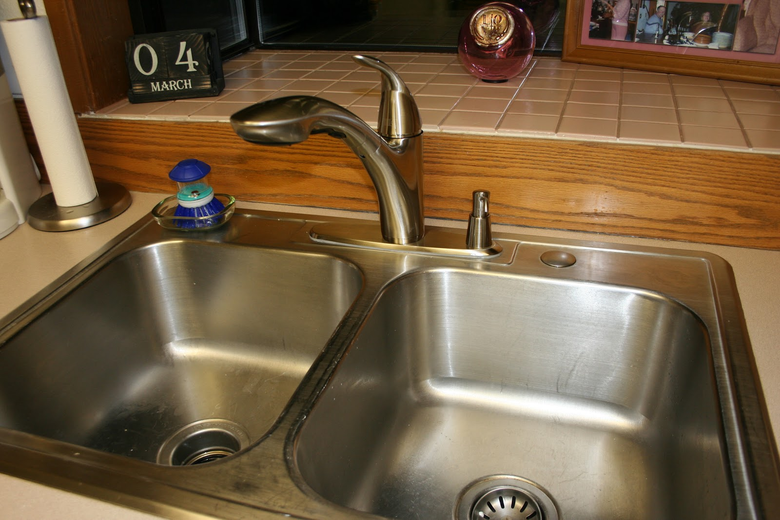 a home at last new kitchen faucet