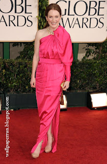 Julianne Moore attends the 68th Annual Golden Globe Awards in Beverly Hills, CA on January 16, 2011