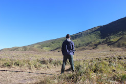STANDING ATOP MOUNTAINS OF JAVA ISLAND