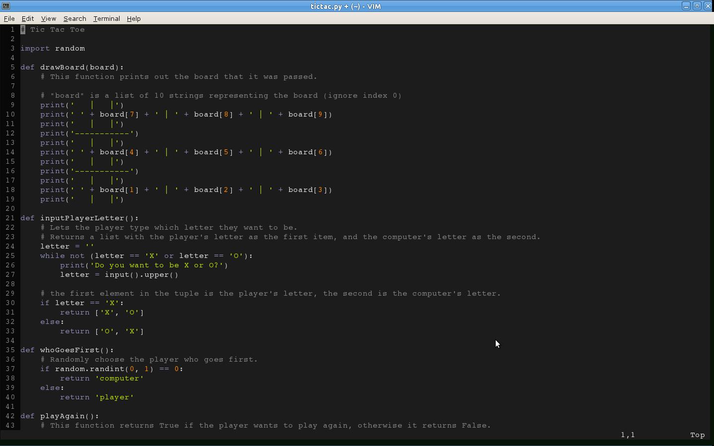 Mustang Color Scheme Color Scheme Vim Online