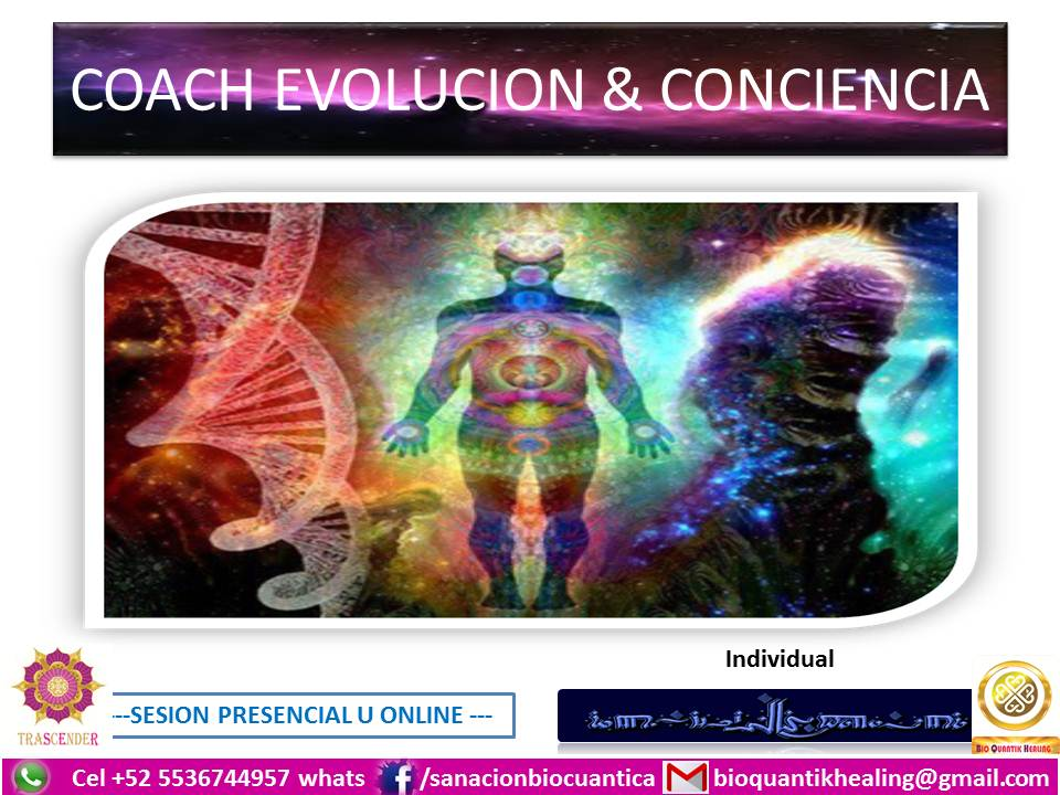 COACH EVOLUCION Y CONCIENCIA