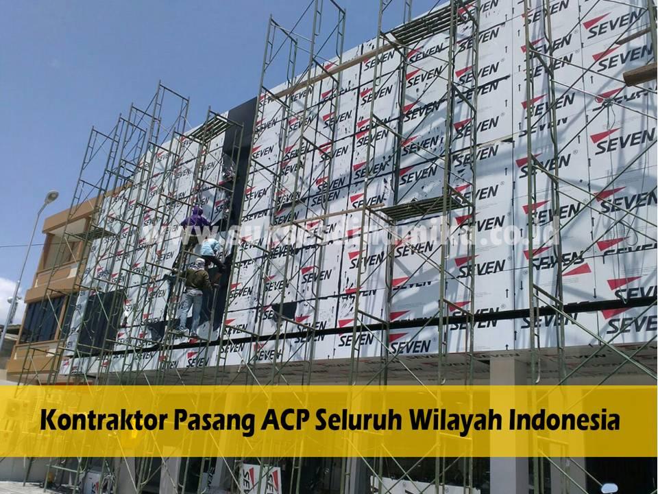 Jual Alminium Composite Panel (ACP) Alumebond Kirim ke Lamongan