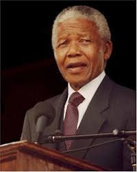 Our own, our leader, Nelson Mandela