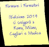 Edizione  2014 a Roma, Milano, Cagliari e Modica