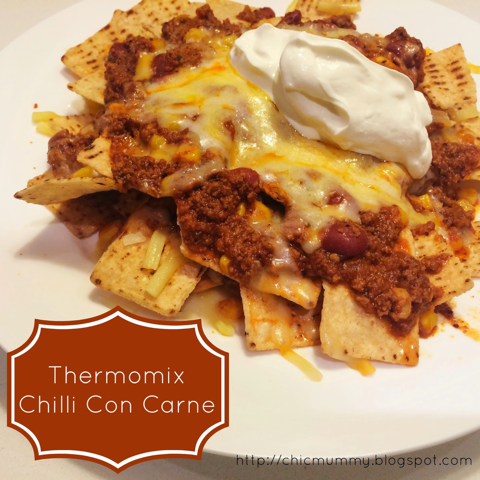 Chic Mummy: Thermomix Chilli Con Carne