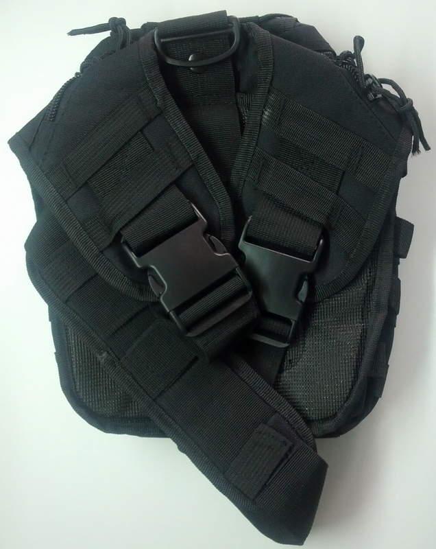 Обзор китайской наплечной тактической сумки аля Maxpedition