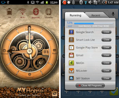 mxhome launcher android