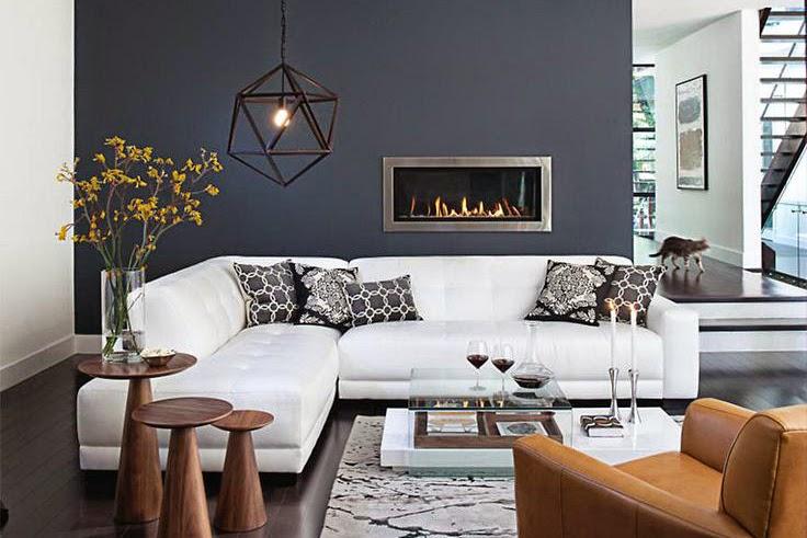 Phối hợp các loại sofa trong phòng khách