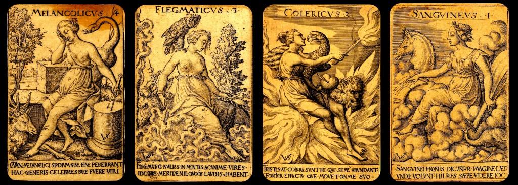 The four human temperaments