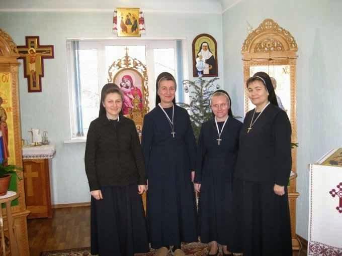Servas de Maria Imaculada em Donetsk antes da invasão dos milicianos putinistas