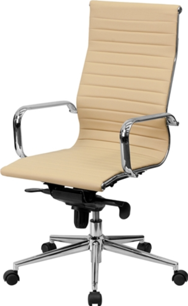 Flash Furniture Tan Leather Office Chair