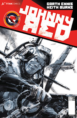 Cover of Johnny Red #1, courtesy of Titan Comics