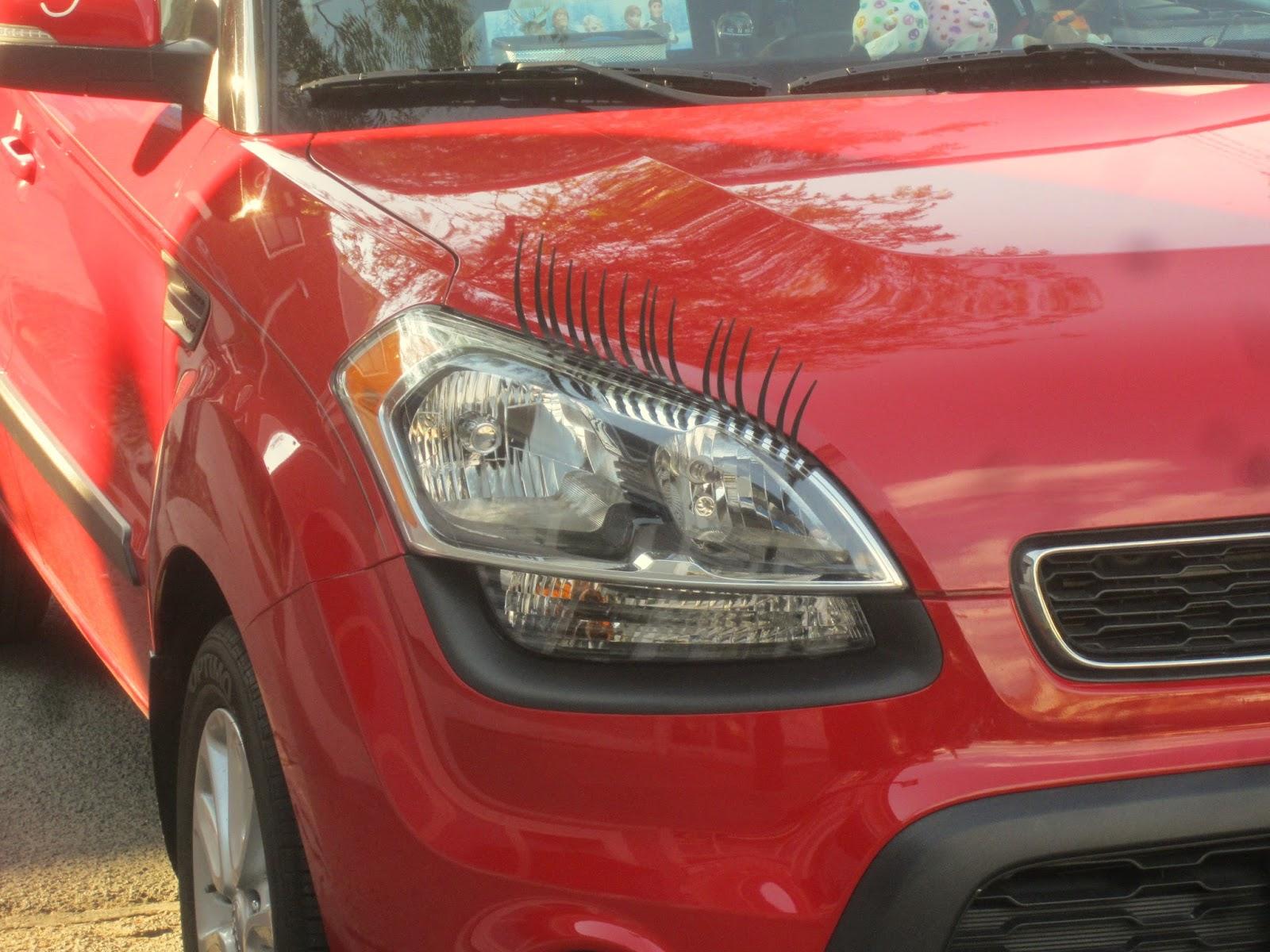 Shybiker Car Eyelashes