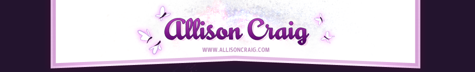 Allison Craig's Blog