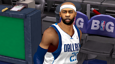 NBA 2K14 Vince Carter Cyberface Patch