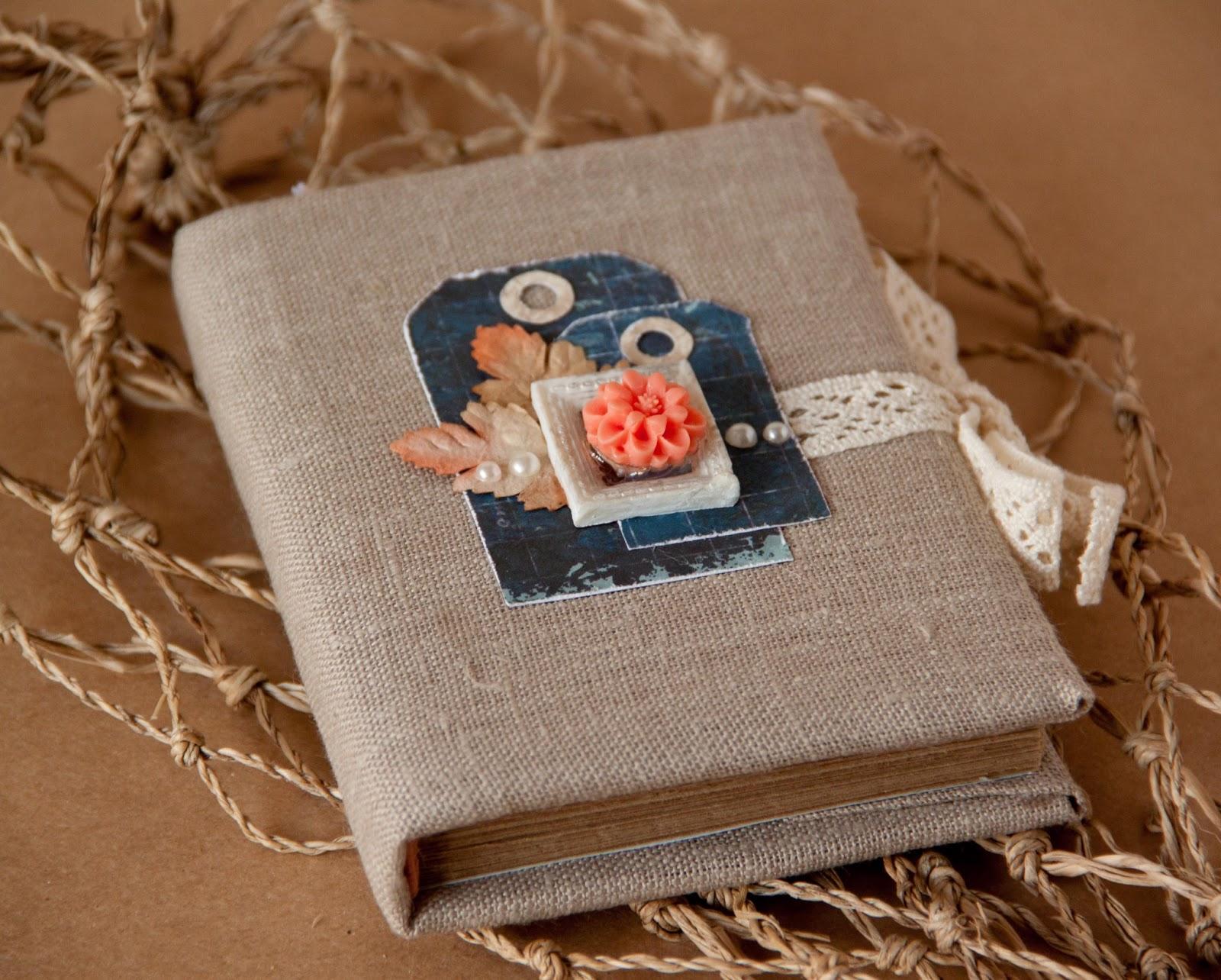 Обложка из ткани для книги своими руками