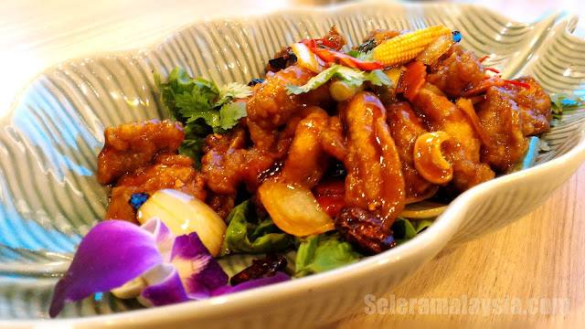 Chicken with Dry Chilli and Cashewnut