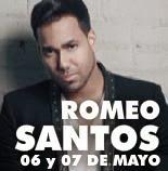 Entradas para Romeo Santos en Cordoba 6 de Mayo 2014