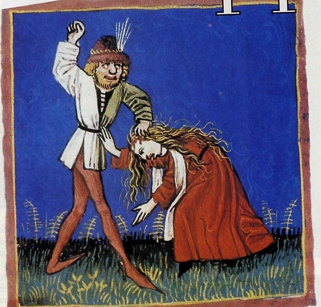 Historie medievali la condizione della donna nel medioevo for Erotismo d epoca