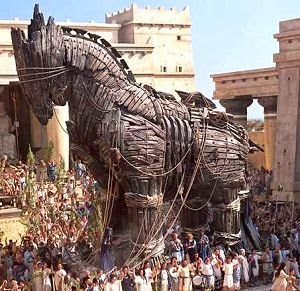 book report of trojan war Gods and men manipulate war in exciting, gory epic read common sense media's the iliad review, age rating, and parents guide.
