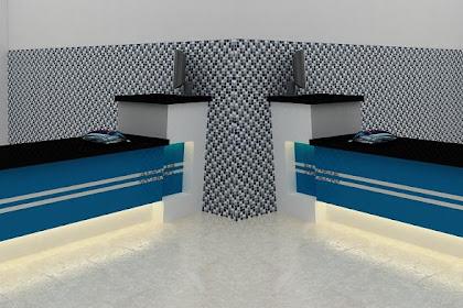 Jasa Desain Meja Kasir Minimalis Modern