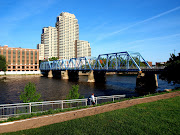 . Riverwalk in Grand Rapids. Here are a few of the sites to be seen.