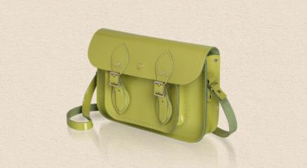 cambridge satchel lime