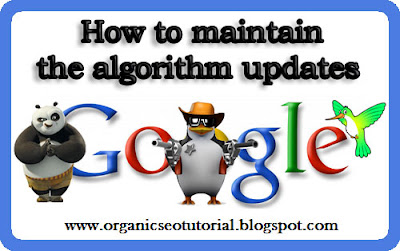 seo tutorial maintain the algorithm updates