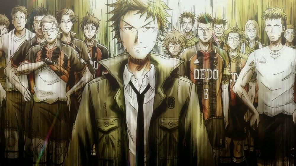 Giant Killing Anime Manga