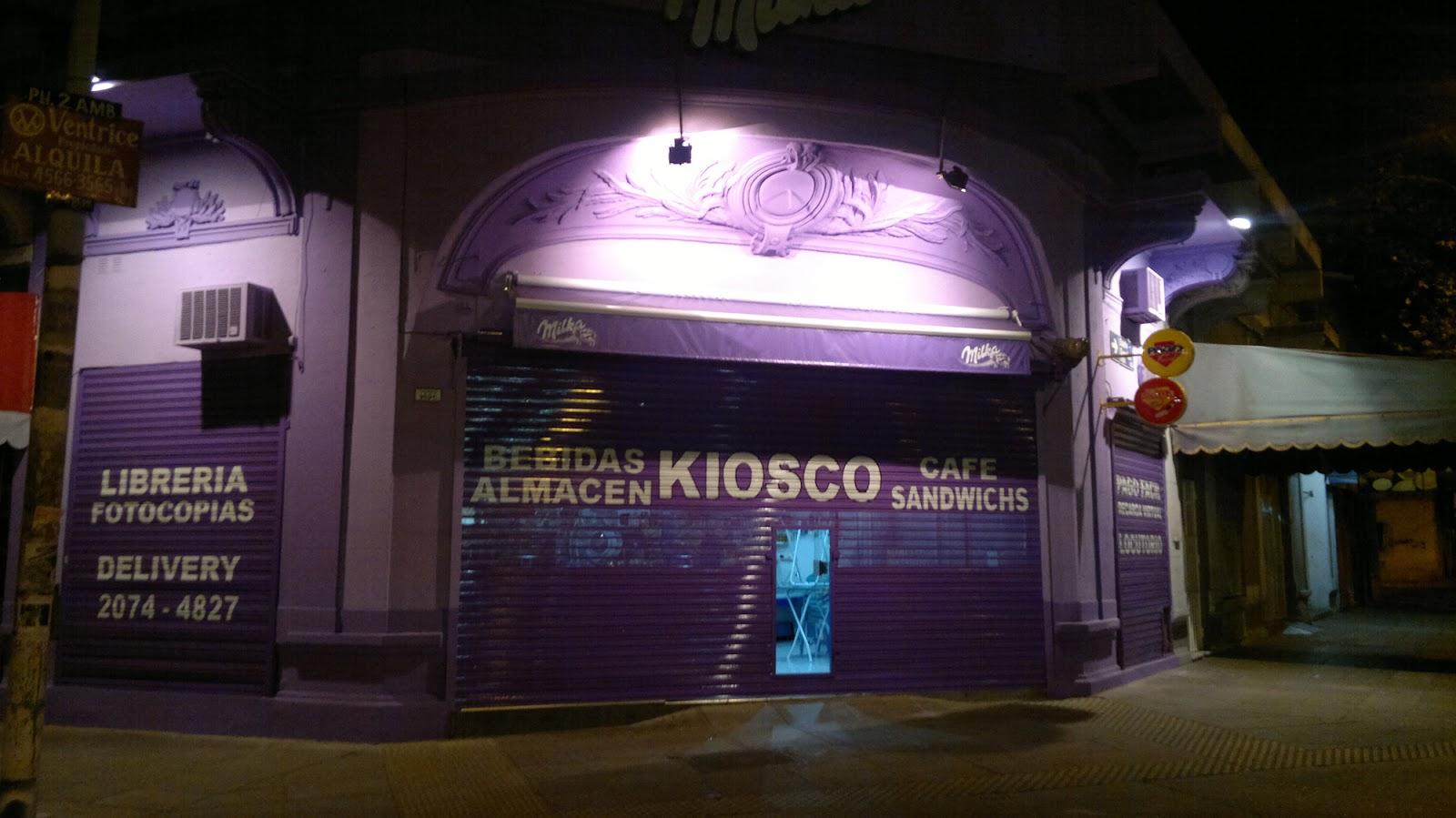Decoracion Para Kioscos ~ Kiosco al estilo  Milka   LETRISTA