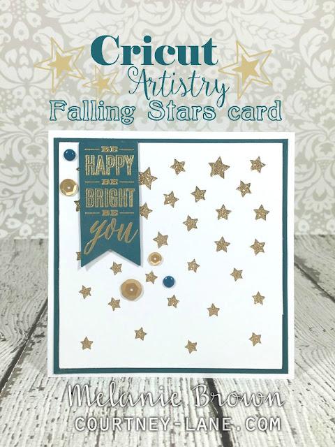 falling stars card