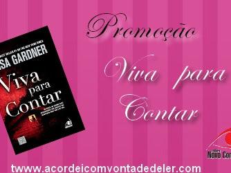 Promoção parceria com Editora Novo Conceito - Viva para contar