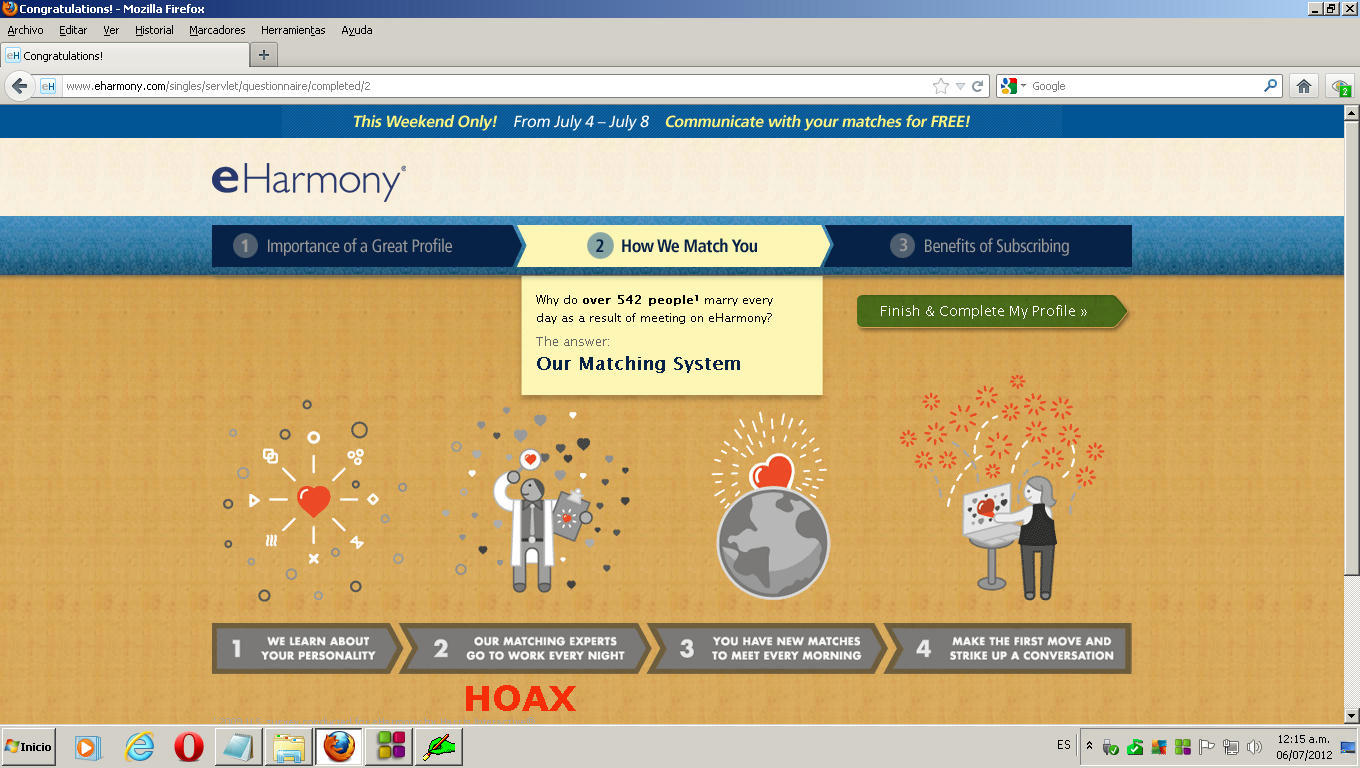 What are the substitutes for online dating eharmony