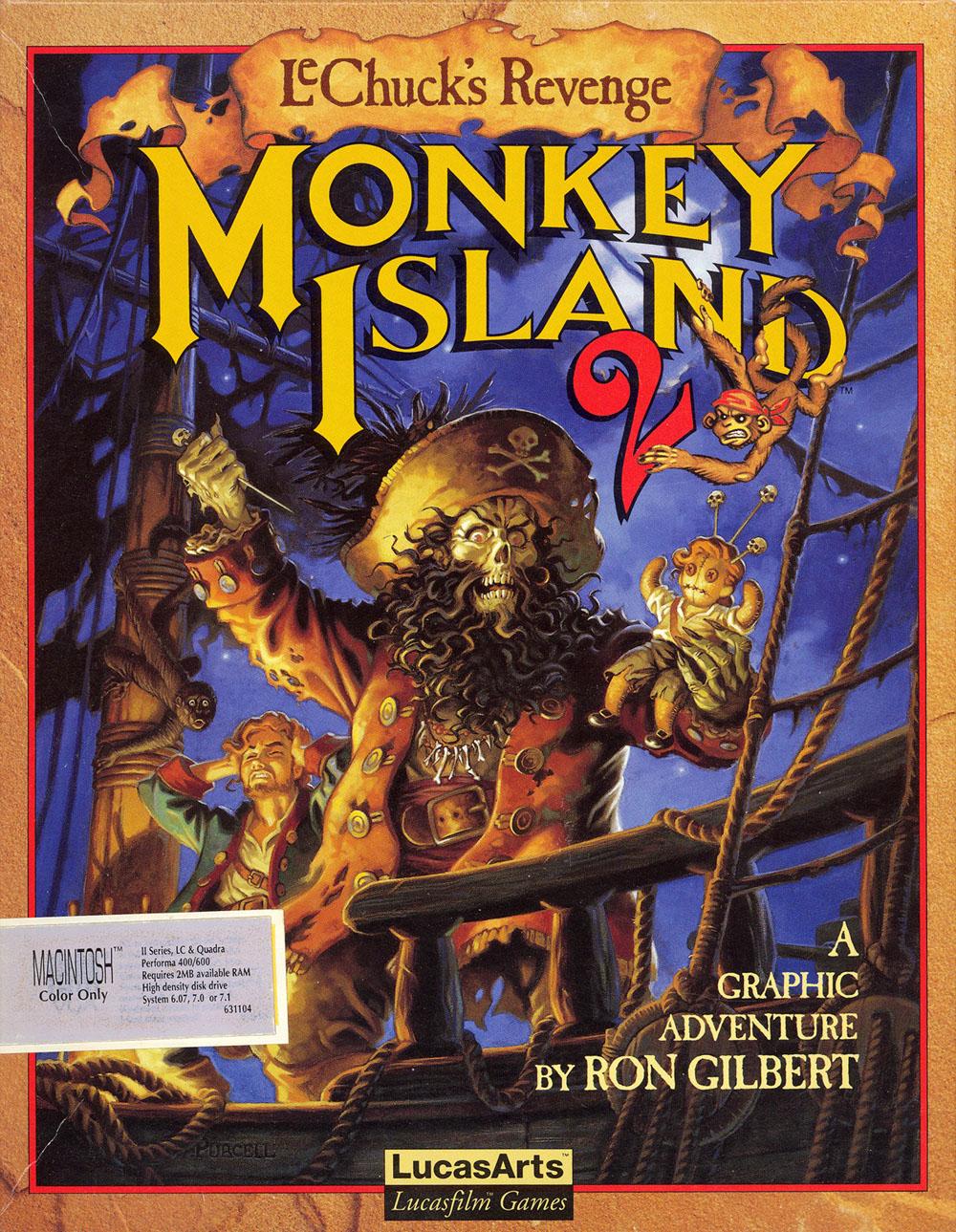 Monkeys Island Lechuck