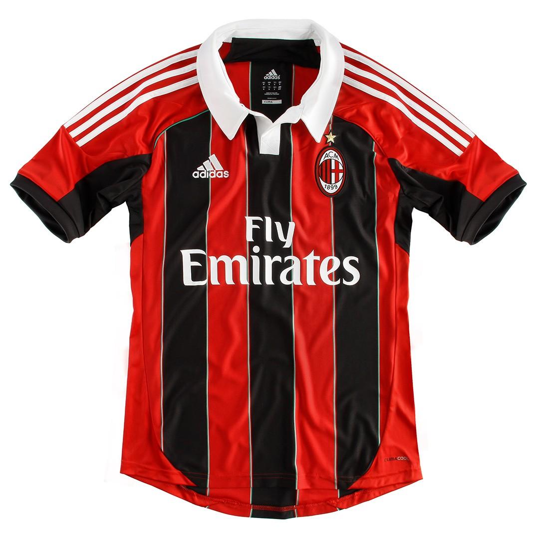 Del Milan Equipacion Uniforme Indumentaria Camiseta Ac Milan 2012 2013