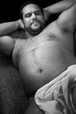 naked chubby bears - big belly - beffy chub