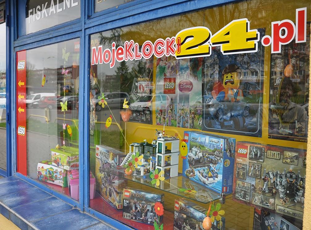 Salon klocków LEGO
