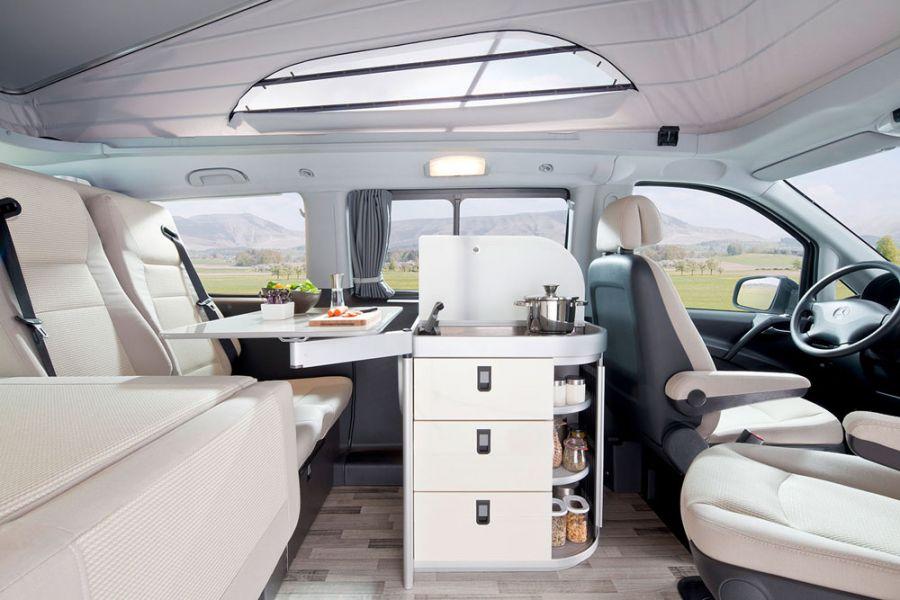 Idee idee tuning interieur : Camper-Stuebchen: Jules Verne Family - der neue Vito von Westfalia