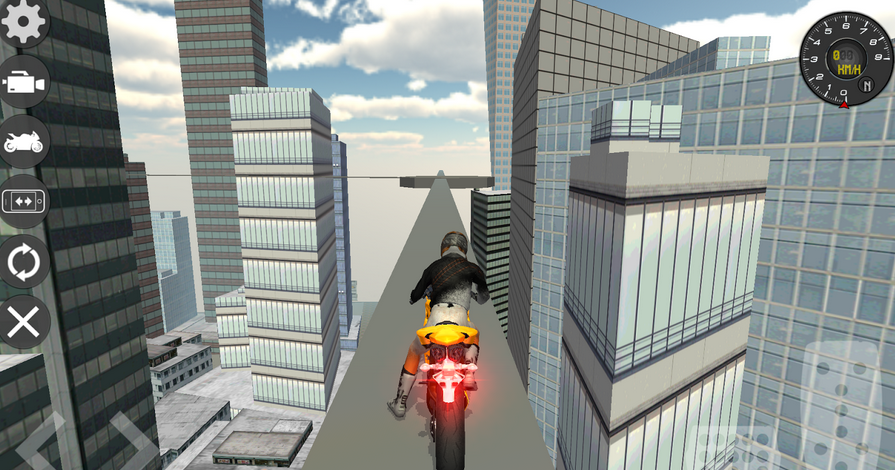 Motor Bike Crush Simulator 3D - Game Balap Motor Android Terbaik