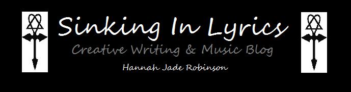 Sinking In Lyrics - Creative Writing & Music Blog