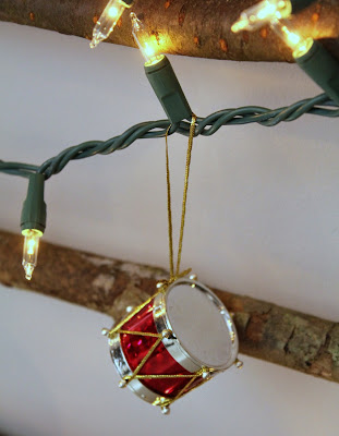 drum ornament - Turtles and Tails blog